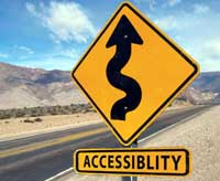 Accessibility Sign